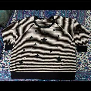 Striped Torrid sweater